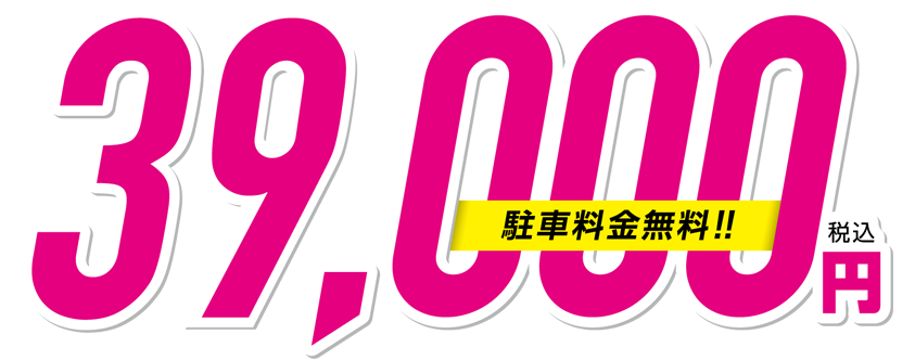 Adult all-day season ticket (parking lot fee included!) 39,000 yen including tax