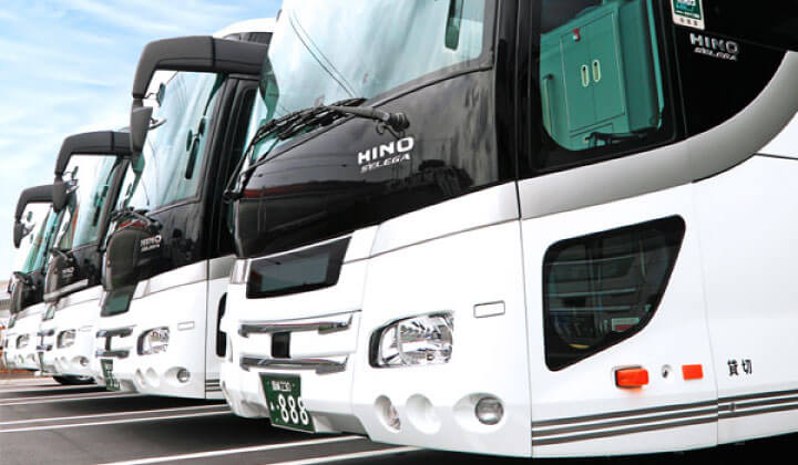 Free shuttle bus from Gujo-Hachiman and Takayama stations!